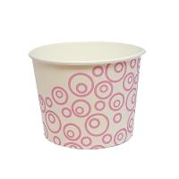 Պաղպաղակի բաժակ Pink-white